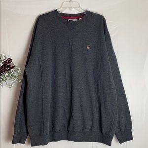 Men Vtge Fila Sweater/ Fila Jogger/ Size: XL
